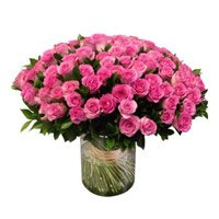 Flowers to Bengaluru : Pink Bouquet Flowers to Bengaluru