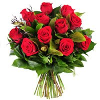 Online Flower Bouquet Delivery in Bangalore Shanthinagar include 10 Red Roses