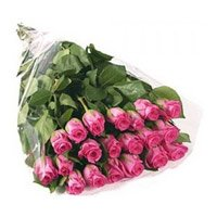Send Flowers to Bangalore.Pink Roses Bouquet 24 Flowers