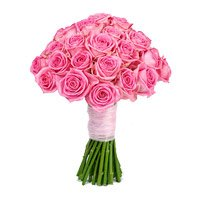 Buy Pink Roses Bouquet 50 Flowers to Bangalore with other New Year Flowers in Bangalore