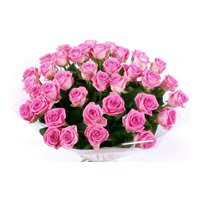 Best Pink Roses Bouquet 60 Flowers in Bangalore with New Year Flowers in Bengaluru