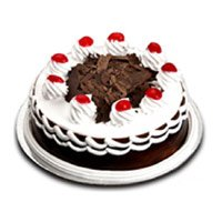 Send Cakes to Bengaluru Basaveswaranagar - Square Black Forest Cake