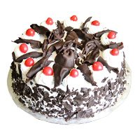 Deliver Rakhi and Cake. Online 500 gm Eggless Vanilla Cake in Bangalore