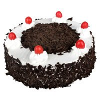 Send 500 gm Eggless Black Forest Cake to Bangalore