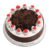 Send 1 Kg Eggless Black Forest Cake in Bangalore