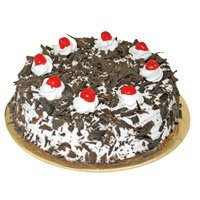 Eggless Cakes to Bengaluru - Black Forest Cake From 5 Star