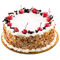 Cakes to Bengaluru - Black Forest Cake From 5 Star