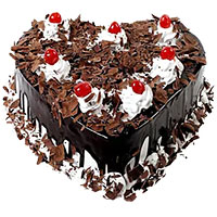 Send Cakes to Bangalore - Heart Cake