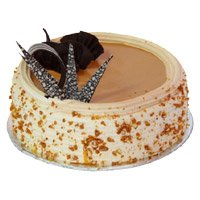 Online Cake Delivery to Bangalore - Butter Scotch Cake From 5 Star