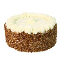 Send 1 Kg Eggless Butter Scotch Cake to Bangalore