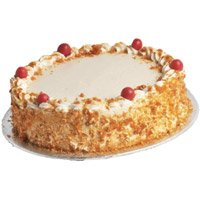 Online Cake Delivery Bengaluru - Butter Scotch Cake From 5 Star