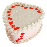 Same Day Heart Shape Cake Delivery in Bangalore