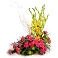 Same Day New Born Flower Delivery to Bangalore