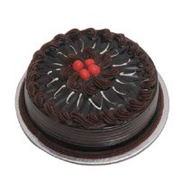 Send 1 Kg Eggless Chocolate Cake to Bangalore Online