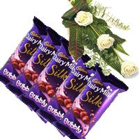 Cadbury Chocolates and Flowers to Bengaluru