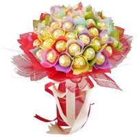 Send 48 Pcs Ferrero Rocher Bouquet Bangalore in Bangalore for Friendship Day