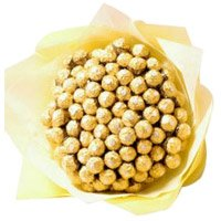 Send Online 80 Pcs Ferrero Rocher Bouquet in Bangalore on Friendship Day