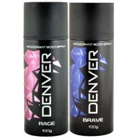 New Year Gifts to Bangalore consisting Men's Denver deodrant combo