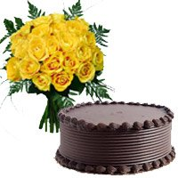 Order Rakhi with 3 Kg 2 Tier Eggless Black Forest Cakes in Bangalore