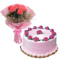 Flower Cake Delivery in Bangalore