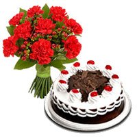 Valentine's Day Flower Cake Delivery in Bangalore