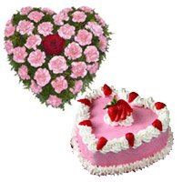 Valentine's Day Cakes and Flowers to Bengaluru