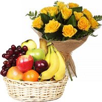 Same Day Mother's Day Flower Delivery in Bangalore : Fresh Fruits to Basket to Bangalore