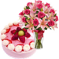 Send Flowers to Bengaluru - Cake From 5 Star