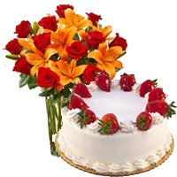 Ganesh Chaturthi Cakes to Bangalore - Send Flowers to Bangalore