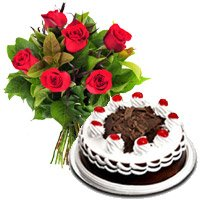 Send Online Cake and Rakhi in Bangalore with 2 Kg Vanilla Cake