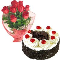 Red Roses and Black Forest Cakes to Bengaluru