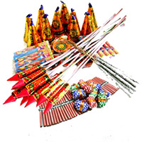 Crackers and Diwali Gifts in Bangalore Send to Assorted Crackers worth Rs 1000