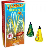 2 Boxes of Flowers Pot(Anaar) Contains 10 Pcs in each Box.Diwali Gifts to Bangalore.