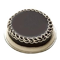 Send Rakhi with Cake to Bangalore. 1 Kg Chocolate Photo Cake