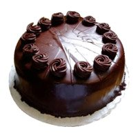 Shop for 500 gm Eggless Chocolate Truffle Cake to Bangalore