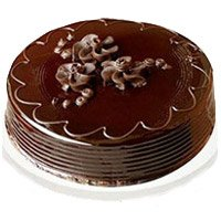 Deliver 1 Kg Eggless Chocolate Truffle Cake to Bangalore