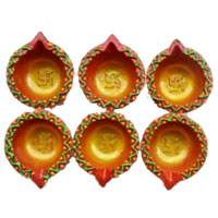 Shop for Best Diwali Gifts in Bangalore. 6 Small Handcrafted Diya