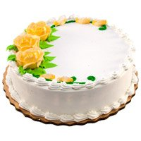Send 5 Star Cakes to Bangalore - Vanilla Cake From 5 Star