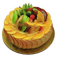 Send Fresh Cakes to Bengaluru - Fruit Cake From 5 Star