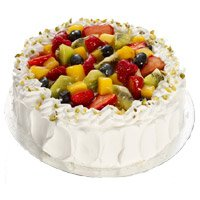 Online Cake Delivery of 1 kg Eggless Fruit Cake to Bangalore Gokula