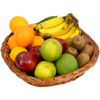 2 Kg Fresh Fruits Basket Deliver in Bengaluru