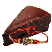 Rakhi Gifts Delivery in Bangalore. Send 4 Pieces Chocolates Truffle Pastry
