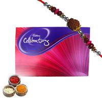 1 Celebration Pack with 1 Rakhi to Bangalore