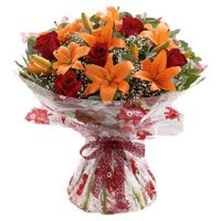 Valentine's Day Flower Online Delivery in Bangalore
