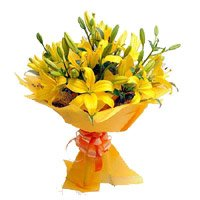 Online Flower Delivery in Bengaluru - Yellow