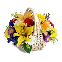 Best Online Florist in Bangalore : Mix Flower Basket