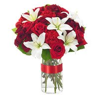 Flower Delivery Bangalore : Mix Flower in Vase
