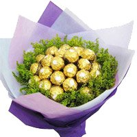 Place order to send 24 Pcs Ferrero Rocher Bouquet in Bangalore for Friendship Day