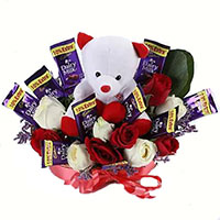 Deliver Gifts to Bangalore. Send 32 Pcs Ferrero Rocher Bouquet in Bangalore for Friendship Day