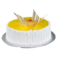 1 Kg Pineapple Cake from Leading and Reputed 5 Star Bakery in Bangalore Shanthinagar